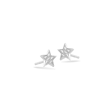 Mini Star Pavé Ørestikker