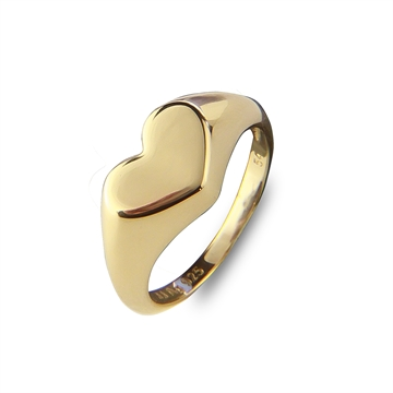 Heart to Hear Signet Ring